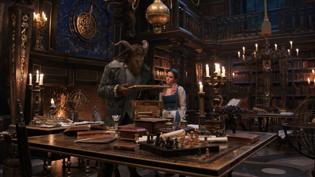 Beauty and the Beast reading