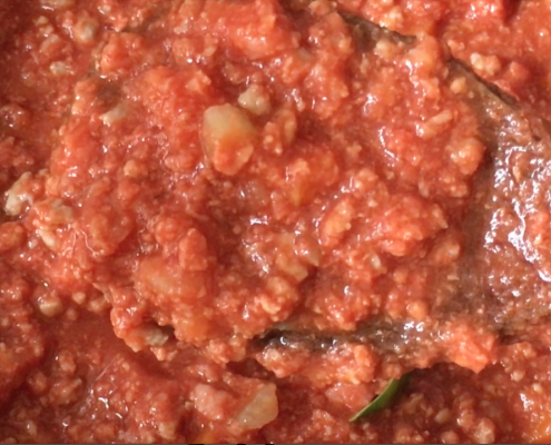 Make Bolognese Sauce
