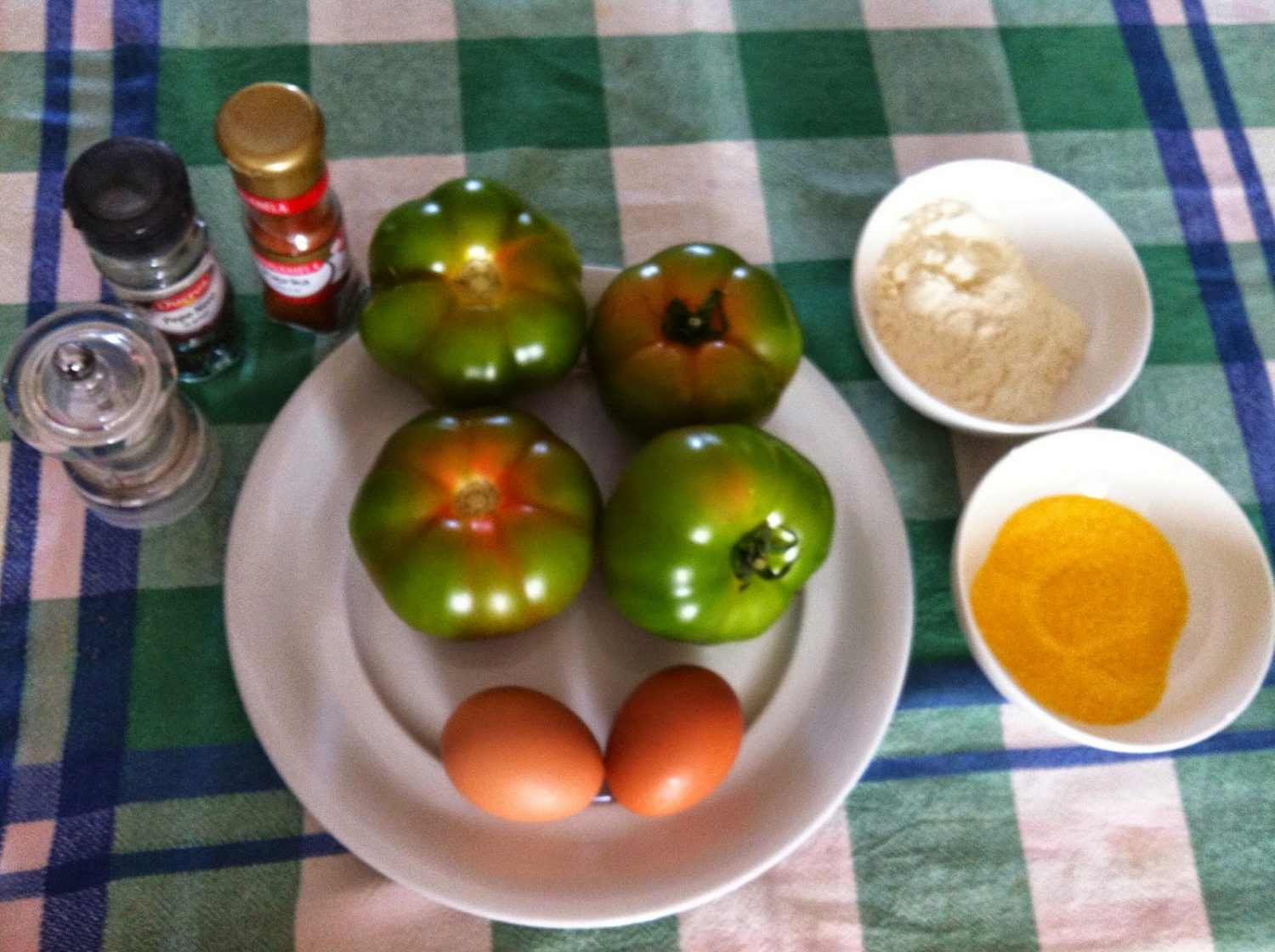 Fried-Green-Tomatoes-Ingredients
