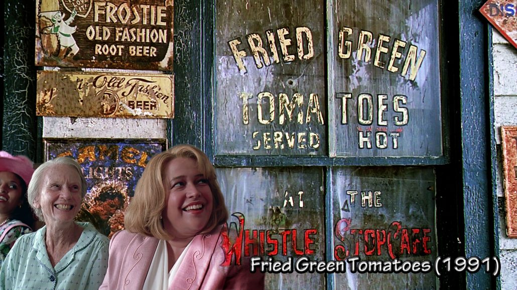 MOTHER'S DAY FRIED GREEN TOMATOES * FOOD and the MOVIES