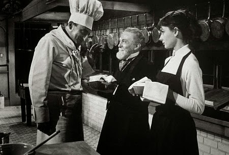 Sabrina preparing the soufflé