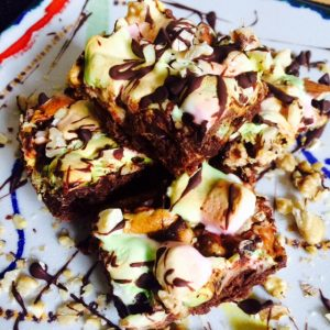 Rocky-Road-Brownies